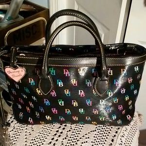 Dooney&Bourke Black IT Satchel